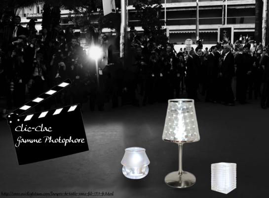 Lampe Led sans fil pour professionnels