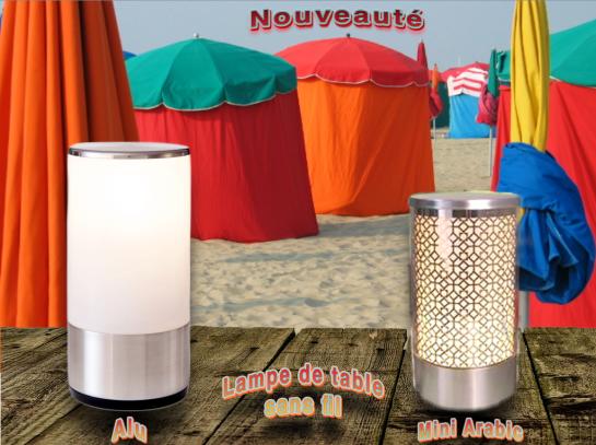 Nouveauté  Lampe de table sans fil professionnels